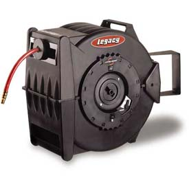 Legacy™ Levelwind 3/8In. X 50Ft. Retractable Air Hose Reel