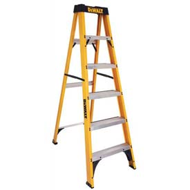 DeWalt 6' Type 1 Fiberglass Step Ladder - DXL3110-06