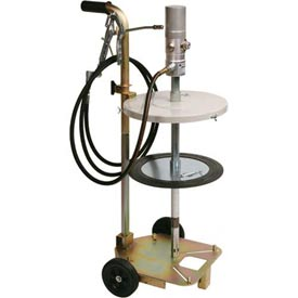 Click here to buy Liquidynamics 13051T-S1 Portable Grease Pump Kit for 120 lb. (16 Gal.) Drums.