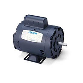 Leeson Motors-1/4HP, 115/208-230V, 1725RPM, DP, Rigid Mount, 1.35 SF