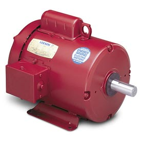 Leeson Motors - 1/2HP, 115/208-230V, 1725RPM, TEFC, Rigid Mount, 1.15 S.F.