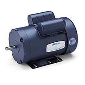 Leeson Motors - 2HP, 115/208-230V, 3450RPM, TEFC, Rigid Mount, 1.0 S.F.