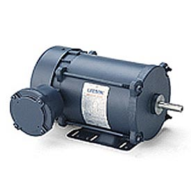 Leeson Motors - 3/4HP, 208-230/460V, 1725/1425RPM, EPFC, Rigid Mount, 1.0 S.F.
