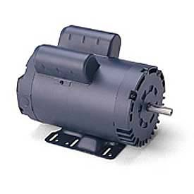 Leeson Motors Single Phase General Purpose Motor 50HZ, 3/4HP, .55KW, 2850RPM, 56, IP22, 110/220V