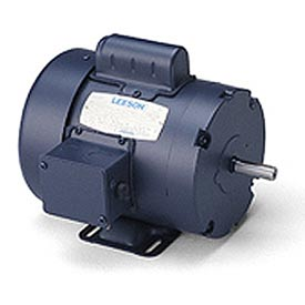 Leeson Motors - 1HP, 115/208-230V, 1725RPM, TEFC, Rigid Mount, 1.15 S.F.