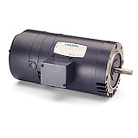 Leeson Motors - 1.5/1HP, 208-230/460V, 1725/1425RPM, DP, C Face Mount, 1.15 S.F.