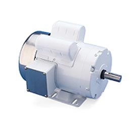 Leeson Motors Motor Washdown Motor-1.5HP, 115/208-230V, 1740RPM, TEFC, RIGID, 1.15 SF, 71 Eff.
