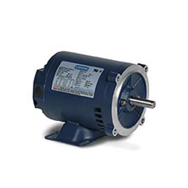 Leeson 121675.00, Premium Eff., 1.5 HP, 1750 RPM, 208-230/460V, 145TC, DP, C-Face Rigid