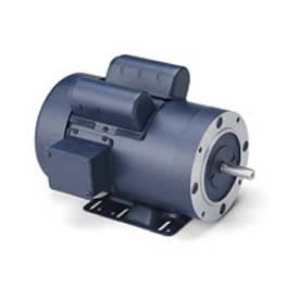 Leeson Motors Single Phase General Purpose Motor 3HP, 3450RPM, 145, TEFC, 230V, 60HZ, 1SF, Rigid C