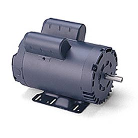 Leeson Motors - 5HP, 208-230V, 1740RPM, 184T, DP, Rigid Mount