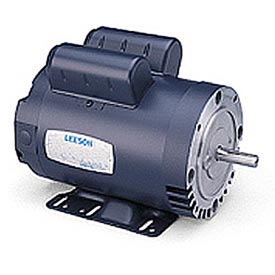Leeson Motors - 3HP, 208-230V, 1740RPM, DP, Rigid Mount, 1.15 S.F.