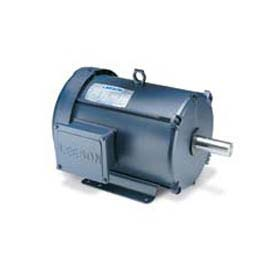 Leeson Motors 3-Phase Multi-Speed Motor 5/2.5HP, 1725/850RPM, 215, TEFC, 460V, 60HZ, 40C, 1.0SF