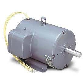 Leeson Motors Single Phase Farm Ag Motor 10-15HP, 3600RPM, 215TVZ, DP, 230V, 60HZ, Air Over, Rigid