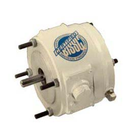 Leeson Motors 3-Phase Washguard Duty Motor 6 Lb Ft Coupler Brake, 56C/143 5TC