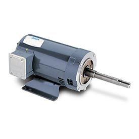Leeson Motors - 20//20HP, 208-230/460V, 3470//2910RPM, DP, Rigid Mount, 1.15 S.F.