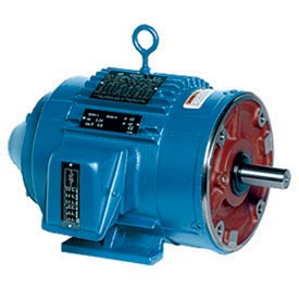 Leeson Motors - 2HP, 460V, 1735RPM, TENV, Rigid Mount, 1.0 S.F.