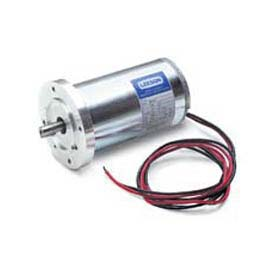 Leeson Motors DC Motor Low Voltage 1/8HP, 3000RPM, 56D, IP44, 90V, S1, 40C, 1.0SF, B14, Commercial