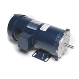 Leeson Motors DC Motor General Purpose 1/3HP, 1750RPM, 56C, TEFC, 180V, 40C, Rigid C, NEMA