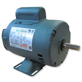 Leeson E100007.00, 1/2HP, 1800RPM, S56 ODP 115/230V, 1PH 60HZ Cont. 40C 1.25SF, Rigid