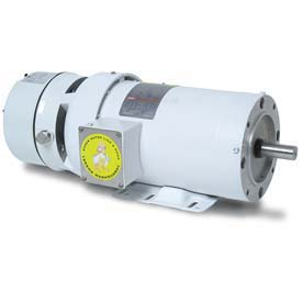 Leeson Motors 3-Phase Washguard Duty Motor 1.5/1HP, 1740/1440RPM, 145, TEFC, 208 230/460V, 60/50HZ