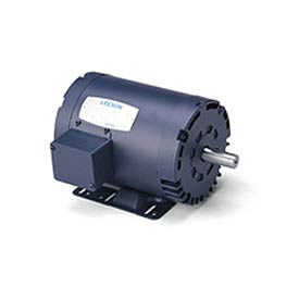 Leeson 132234.00, Premium Eff., 3 HP, 1760 RPM, 208-220/460V, 182T, DP, Rigid