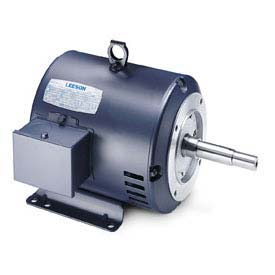 Leeson Motors 3-Phase Pump Motor , 7.5HP, 1760RPM, 213JM, DP, 208-230/460V, 60/50HZ, 40C, 1.15SF