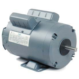 Leeson Motors Single Phase Farm Ag Motor 1HP, 1725RPMH, TENV, 115/230V, 60HZ, Auto, Rigid