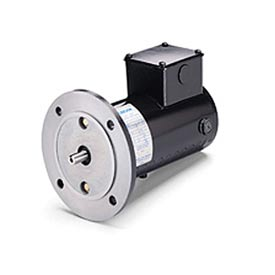 Leeson Motors Metric DC Motor-.18 KW, 24V, 1800RPM, IP54, B5