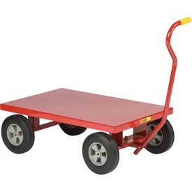 Little Giant Steel Deck Nursery Wagon Truck LW2436-8S-FSD 36 x 24 Deck 1200 Lb. Cap. by