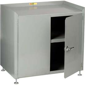 "Little Giant® Stationary Shop Cabinet w/Leg Levelers, 24""W x 24""D"