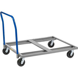 Little Giant® Pallet Dolly with Handle PDH-4848-6PH - 48 x 48 3600 Lb. Capacity