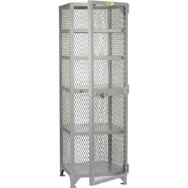 "Little Giant® All-Welded Compact Storage Locker, 24""W x 24""D x 78""H"