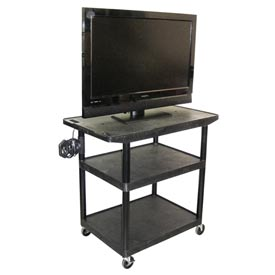 A/V Cart w/ Wide Top - 32x24x40-1/2
