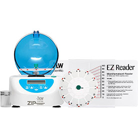 LW Scientific ZCC-12HD-40T3 ZipCombo Centrifuge with 12-Place Microhematocrit Rotor by