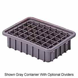 "LEWISBins Divider Box NDC3060 22-3/8"" x 17-3/8"" x 6"", Light Blue - Pkg Qty 4"