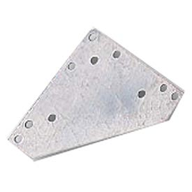 """Lyon Gussets - 6""""x6"""" - Galvanized 12-Pack"""