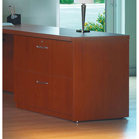 "Mayline Aberdeen Series 36"" Credenza Lateral File Cherry by"