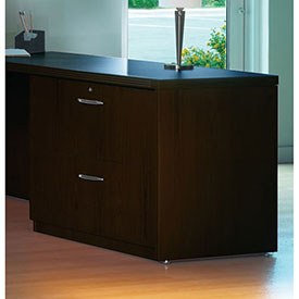 "Mayline Aberdeen Series 36"" Credenza Lateral File Mocha by"
