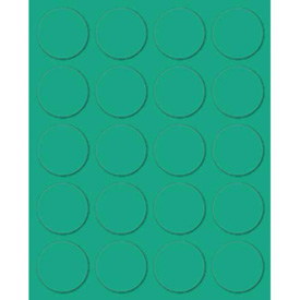 "Magna Visual® Magnetic Circles, 3/4""W x 3/4""H, 20/Pack"