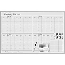 "120-Day Planner Kit, 24"" x 36"" by"