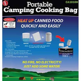 Mayday Portable Cooking Bag, FB-BAG, 10 Pads, 1 Measuring Cup, 1 Bag by