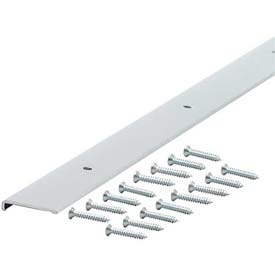 "M-D Decorative Aluminum Edging With Screws 70409, 96""L, For 3/4"" Thickness, Anodized"