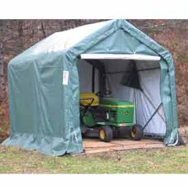8'x8'x8' Green Peak Style Quick Shed