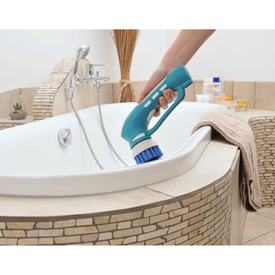 Metapo Cordless Portable Power Scrubber, Blue - PS-100