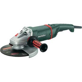 "Metabo W24-230 9"" Angle Grinder W/ Deadman Switch by"