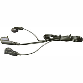 Motorola Earbud with Clip PPT & Microphone for RDX, XTN, CLS, AX, DTR & RM Series