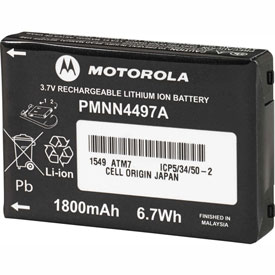 Lithium Ion Battery For Motorola CLS Series