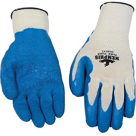 Premium Latex Coated String Gloves, Memphis Glove 9680xl, 1-Pair
