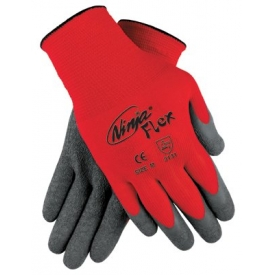 Ninja Flex Latex Coated Palm Gloves, MEMPHIS GLOVE N9680S, 1-Pair