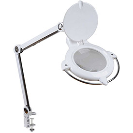 UV & LED Magnifying Task Lamp, 5-Diopter by